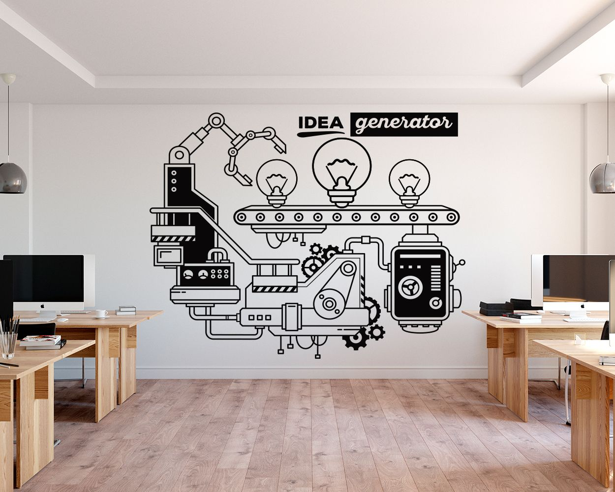 Idea Generator Office Wall Decor